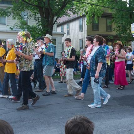Ithaca Fest Parade